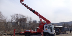 Автовышка 45 метров телескопическая