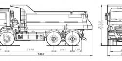 Самосвал 20т. 20м³ КАМАЗ-6520