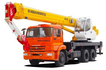 Автокран 25 тонн 31 метр