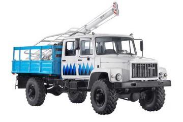Бурильно-крановая машина БКМ-317 Садко