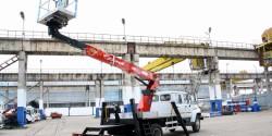 Автовышка 18 метров телескопическая