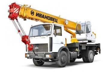 Автокран 16 тонн 18 метров