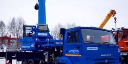 Автовышка 35 метров полноприводная телескопическая